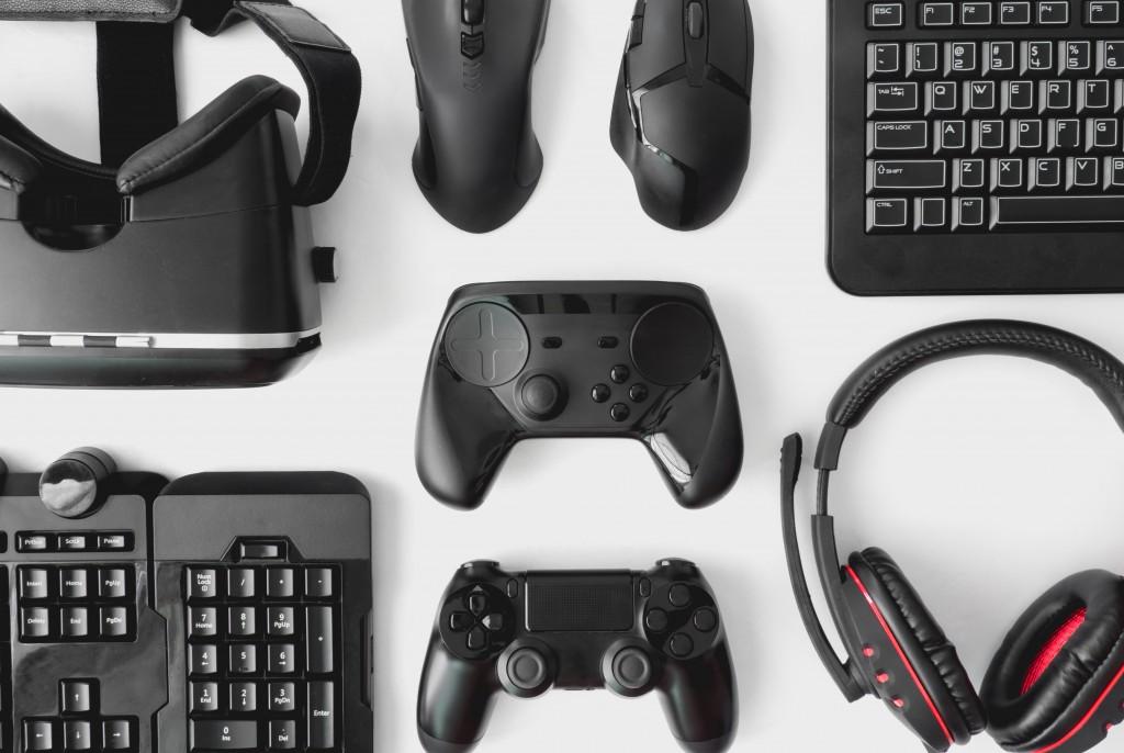 A flatlay of gadgets
