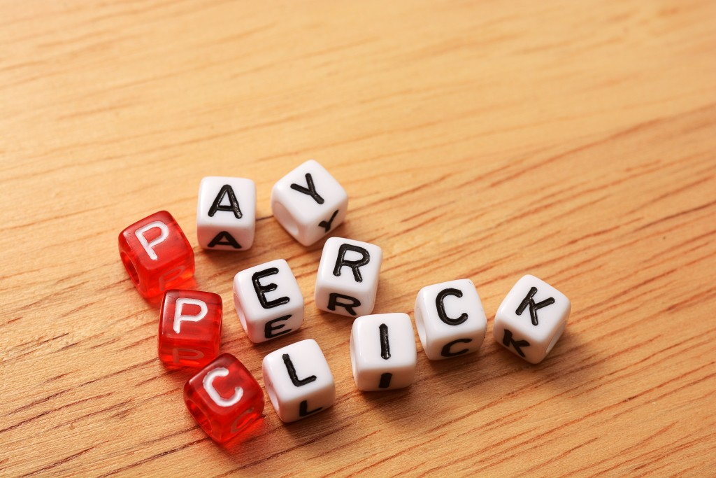 Pay per click words