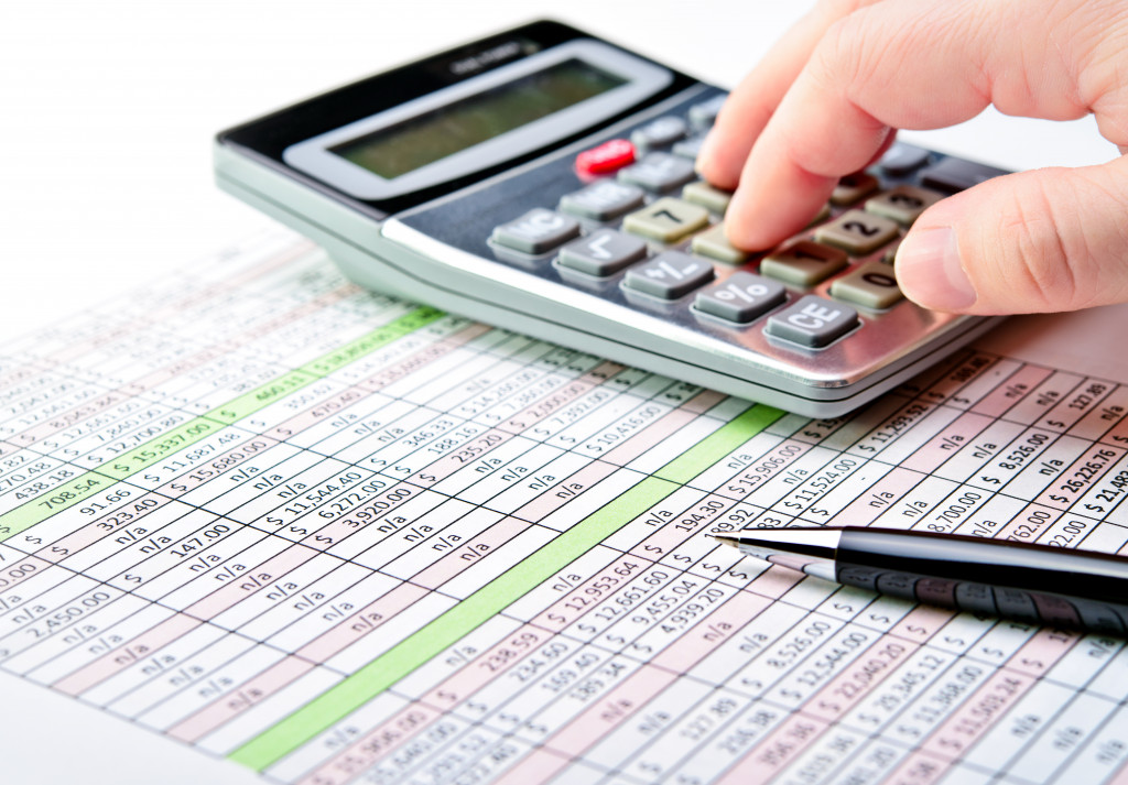 calculating business tax